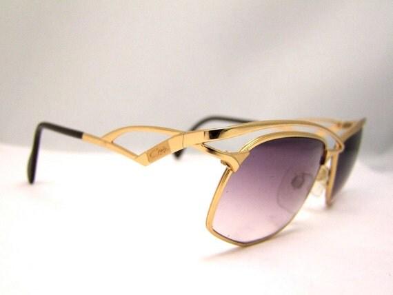 WOW  Vintage CAZAL Eyeglasses  AMAZING style  Vintage Designer Germany mod 255
