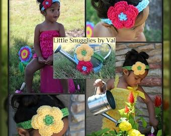 LSBV Summer Headband Set (2 headbands) Infant-Adult Sizes