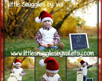 LSBV Santa Hat Infant - Child Sizes Made to Order