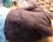 CLEARANCE- Yak Down Roving- Spinning Fiber- 1 oz- Natural Brown