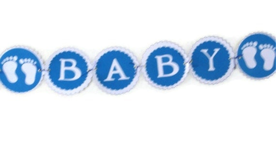 Personalized Name Baby Shower banner