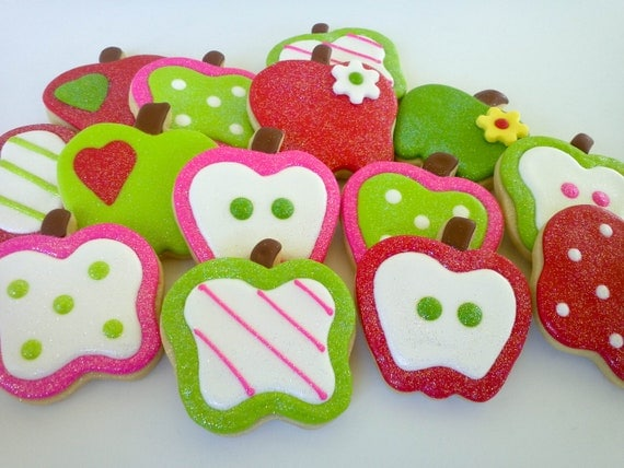 Apple Sugar Cookies - 1 Dozen