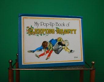 Vintage Pop Up Book of Sleeping Beauty Published by Dean