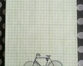 Vintage Bicycle Notepad