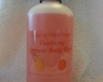 Pearberry Organic Body Wash - 8oz.