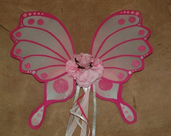 Detailed Child Fairy Wings