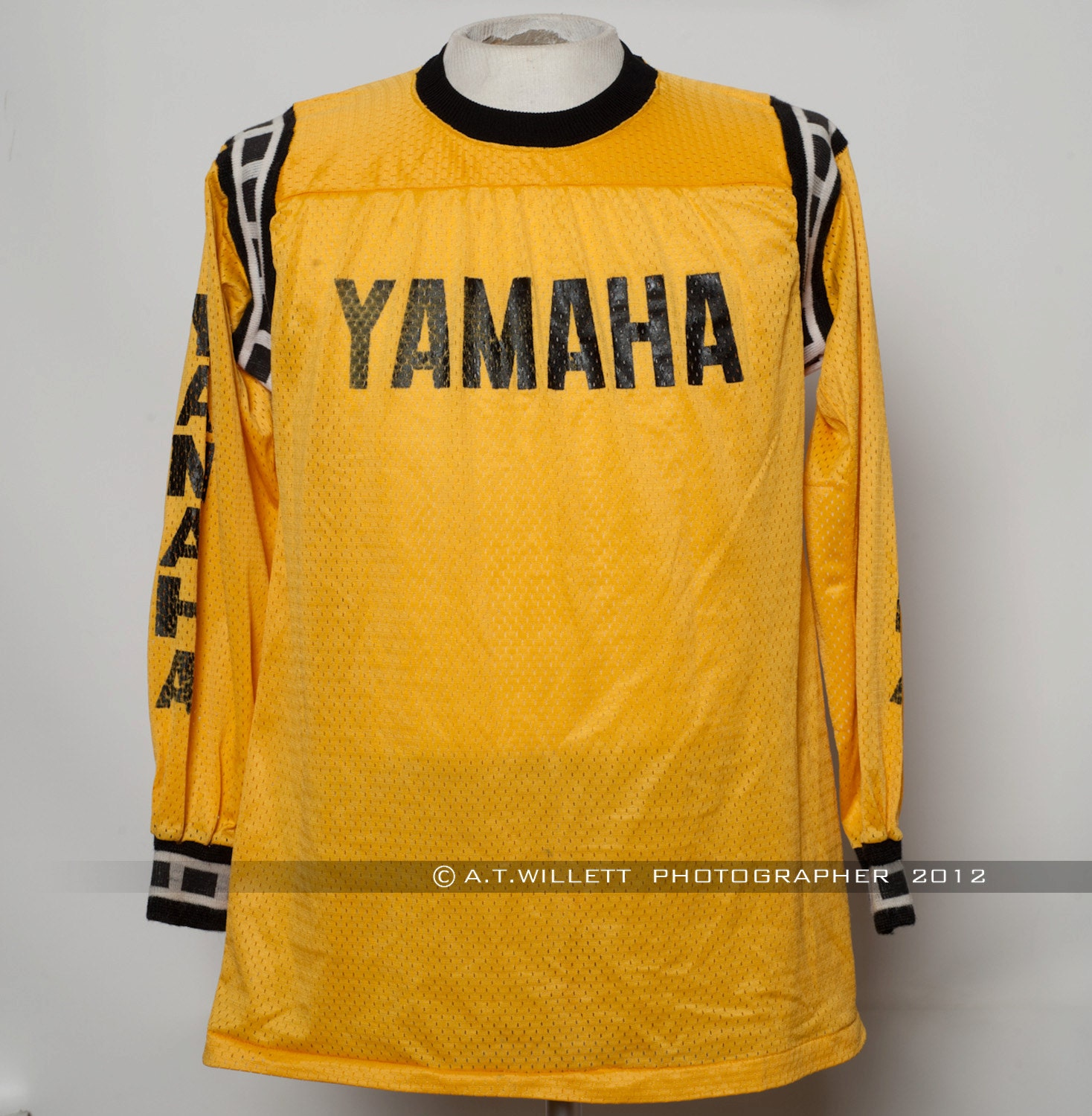 Small Torque Wrench >> 1970's Vintage Yamaha Motocross Jersey Motorcycle by ...