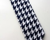 Little Guy Necktie Tie - LIBERTY Collection - (Newborn - 3 months) - Wedding - Photo Prop- 4th of July- ((Ready to Ship))