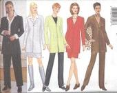 BUTTERICK 5183 UNCUT 12-14-16, Classics Misses Suit, Jacket, Skirt, Pants, Scarf Pattern