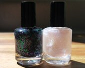 Mini Nail Polish Duo: Poor Unfortunate Soul and Sea Witch