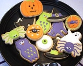 Bakers dozen Halloween Cookie treats