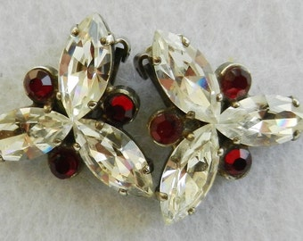 Gorgeous Antique Earrings, 1960s vintage Italian  - light and glamor. Vintage quality -Art.2/2 -