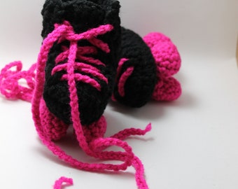 Roller Derby Baby Booties Roller Skate Booties ANY colors