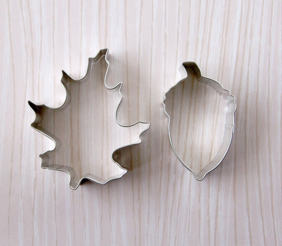 Oak Leaf and Acorn Cookie Cutter Set