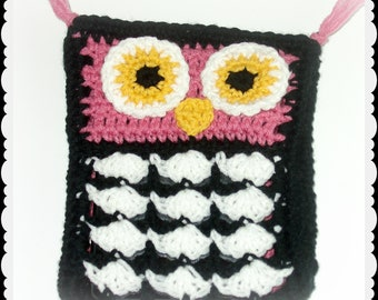 Crochet Owl Kindle Fire Case, Ereader Cover