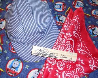 Thomas the Train Engineer Hat Set