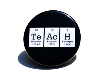 Teach Periodic Table Pin / Button