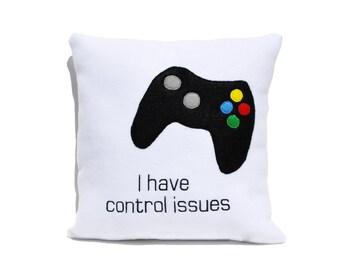 Computer Gamer  Pillow