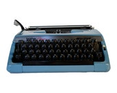 Vintage 1970's Brother Charger 11 Correction Manual Typewriter with Case