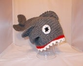 OMG  There's a SHARK on my head hat FREE shipping