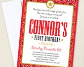 Country Western Party Invitations - Professionally printed *or* DIY printable