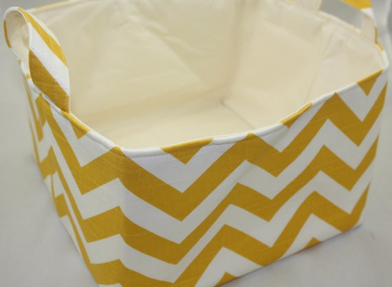 Fabric Organizer Storage Bin Container Basket 11 X 10.5 x 7 Ready to ship