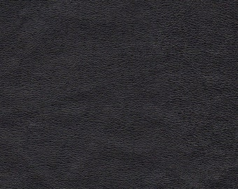 "3541A- Recycled Genuine Leather/Black /10""x10.25""/lt wt/lovely texture/WoolenCrow Price 6.95/craft supplies/leather sewing/leather scrap"