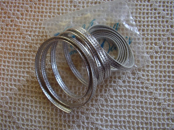 Vintage Purse Replacement Strap Whiting and Davis Silver
