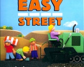 EASY STREET children's book, signed by the illustrator