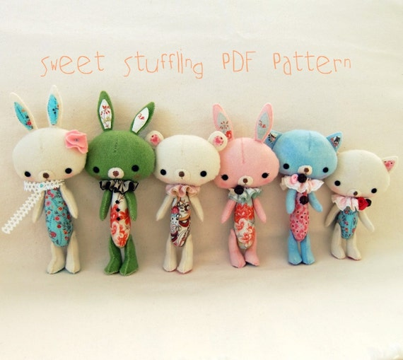 Sweet Stuffling PDF Pattern