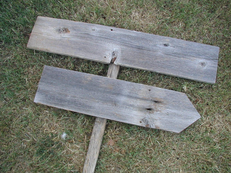 diy wood wedding sign on stake rustic western blank. Black Bedroom Furniture Sets. Home Design Ideas