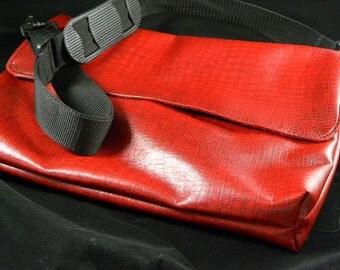 Crocodile Rock Messenger Bag/ Tote/ Computer Bag/Gift for her/ Gift for Mom/ Carry-All/ Birthday Gift/ Christmas Gift/ Birthday gift/ School