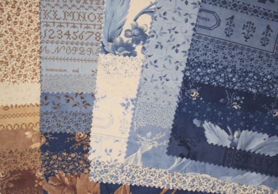 Blueberry Crumb Cake Fabric