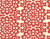 Amy Butler Wallflower Cherry -  1/2 yard