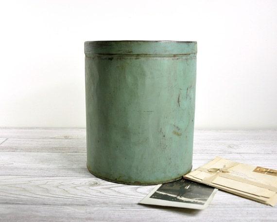 Vintage Coffee Tin / Tin Container