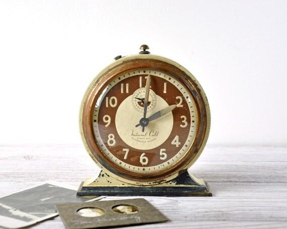 Antique Wind Up Alarm Clock