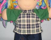Jean's set to fit the Waldorf 6 to 8 inch style dolls