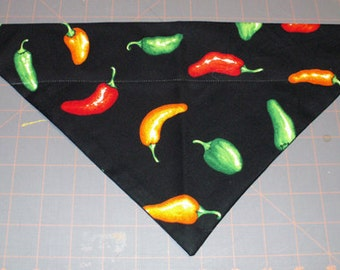 Dog Bandana Chili, peppers, hot peppers, habanero, southwest, mexico
