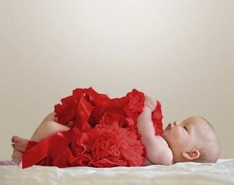 Newborn Pettiskirt -- red, blue, lavender, white,pink -- photo op