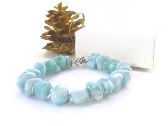 Larimar Bracelet Simple everyday jewelry