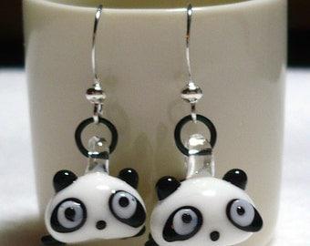 Tare Panda Earrings