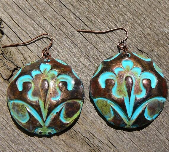 Ancien Régime polymer clay earrings