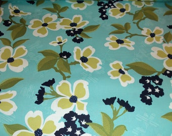 Joel Dewberry Modern Meadow - Dogwood Bloom in Pond - 1/2 yard