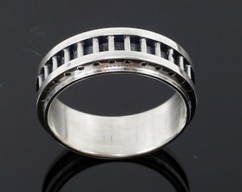 Men's Industrial Band - Sterling Silver