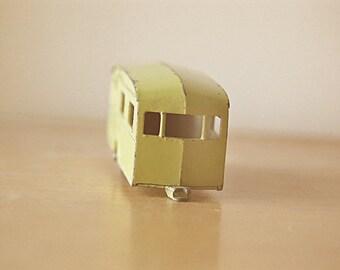 Yellow Caravan Trailer RV This is My Home Fine Art Photo Print Rustic Home Decor