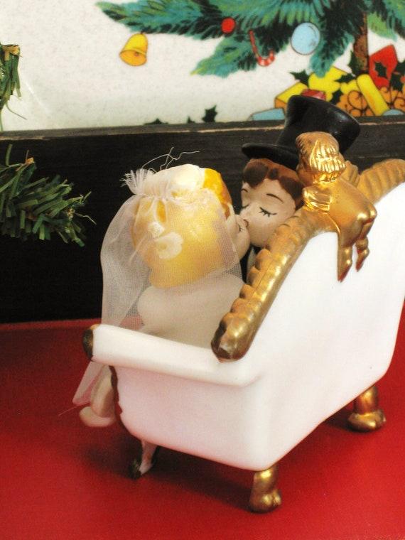 Vintage Wilton Wedding Cake Topper - Cottage Life