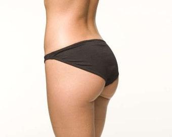 Black Lingerie Panties - Basic Bikini- RTS