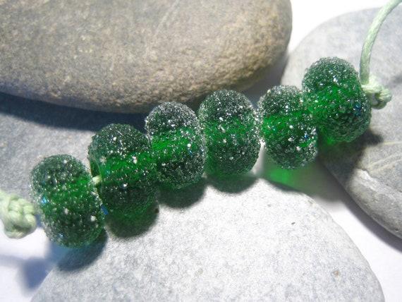 Sugar-coated Oz Lampwork Beads, FHFteam, SRA, UK