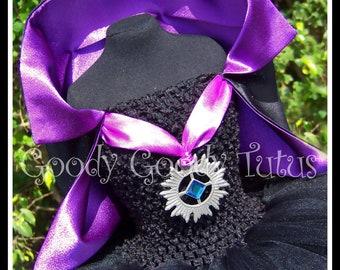 TWILIGHT BABY Vampire Inspired Tutu Dress with Cape - Medium 2/3T