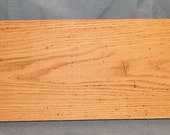 Nice Red Oak Board with Wormholes, Unique Craftwood, Item 131